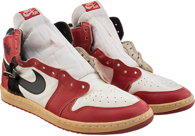 huge discount f3aa8 a4c7d A little known piece of Air Jordan 1 History is up for auction, with this  insanely rare edition of the shoe made custom for Michael Jordan after  coming back ...